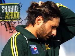 Image result for shahid afridi stylish hair picture