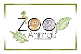 zoo animal clipart cute. Contemporary Zoo Zoo ClipartWatercolor ClipartAnimal ClipartCuteCartoonZoo Animals Intended Animal Clipart Cute A