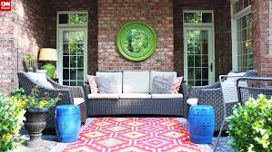 impressive painting an outdoor rug patio rugs diy rugs on concrete paint porches jazz up your porch