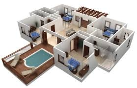3D Home Interior Design Online Ideas Interesting Inspiration Design