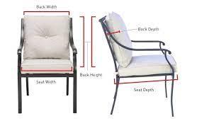 patio seat cushions kadinhayat org