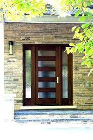 contemporary entry doors captivating exterior front modern wood with glass panels uk
