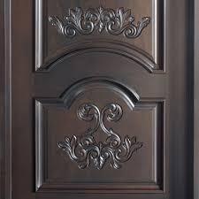 wooden front single door designs