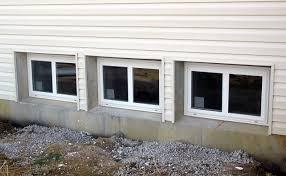 basement windows exterior. Interesting Windows Exterior View Of Multiple Basement Windows To Basement Windows