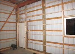 pole barn interior ideas pole barn wall framing page 3 the garage journal board interior covering pole barn interior ideas