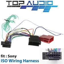 sony wiring harness wiring diagram fit sony xav ax100 xav ax200 iso wiring harness cable lead loom wiredetails about fit sony