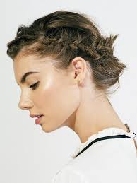 Braided Updo Hairstyles 100 Best Tutorial The Coolest Braided Updo For Short Hair Byrdie