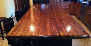 craft art wood countertops black walnut kitchen atlanta by