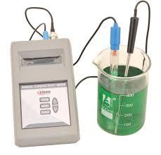 Light Bulb Conductivity Apparatus Conductivity Meter Digital Handheld Model