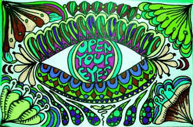 animated gif art trippy free psychedelic s eye colorful