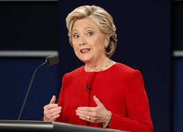 Image result for HIllary Clinton debate