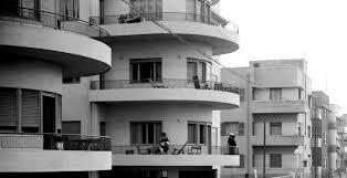 modern Bauhaus in Israel