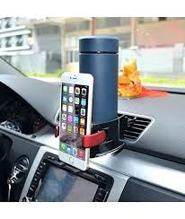 cup holder cell phone mount car cup holder combo car phone holder air conditioner vent mount cup holder cell phone