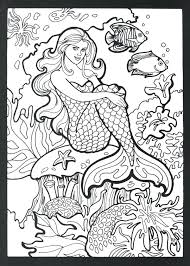 Free Mermaid Coloring Pages Free Mermaid Coloring Pages More Image