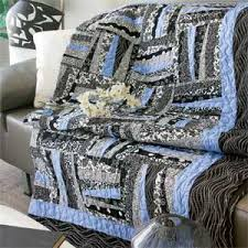 A-Blue: Random-Piecing Fun Lap Quilt Pattern & Peek-A-Blue: Random-Piecing Fun Lap Quilt Pattern Adamdwight.com