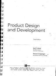 Product Design Development Ulrich Product Design Development