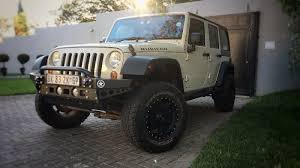 2011 jeep wrangler rubicon 3 8l 4x4 4door automatic lifted and tuned convertible sand