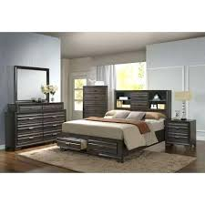 Find Lifestyle Antique Grey Queen Bedroom Set At Furniture Bed With ...
