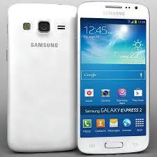 Samsung Galaxy Express 2 White 3D Model ...