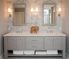Open Shelf Vanity Bathroom Bathroom Vanities With Cabinets With Beach Style Open Shelves