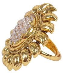 Traditional Ring Designs In Gold Much More Sun Design Gold Plated Finger Ring Jewelry For