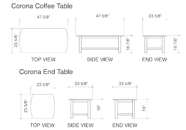 standard side table height average coffee table height standard side table height side table heights average coffee table height perfect for interior
