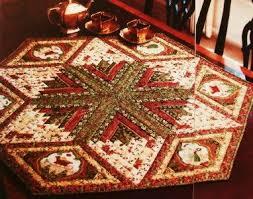 23 best Diamond log cabins images on Pinterest | Mandalas, Cloth ... & Christmas Memories Quilt Pattern From Magazine Diamond LOG Cabin Table . Adamdwight.com