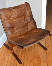 mid century modern mid century ingmar relling siesta leather chair from westnofa of norway