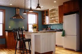 farmhouse kitchen industrial pendant. Peerless Farmhouse Kitchen Island Table With Industrial Pendant I