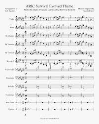Violin sheet music › violin solo › eugène ysaye. Ark Survival Evolved Theme Solo Violin Sheet Music Hd Png Download Transparent Png Image Pngitem