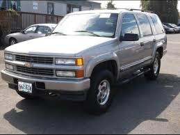 2000 Chevrolet Tahoe Limited/Z71 - Information and photos ...