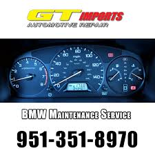 Riverside Bmw Scheduled Maintenance Intervals Gt Imports Auto Repair