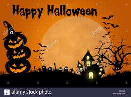 Halloween Template Traditional Spooky Halloween Template Design With Space For Text Or