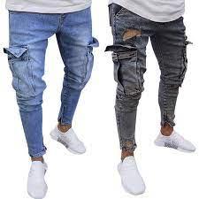 pre nuevos pantalones rotos para