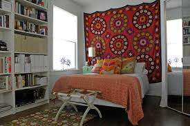 pretty tapestry wall hangings in eclectic dallas with wall hanging next to fabric wall hanging alongside hanging bedatching curtains and pillows