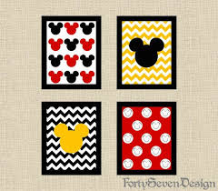 canvas house mickey mouse wall art decorations stripes cute disney popular fabric cloth cuts frame on mickey mouse metal wall art with wall art design ideas canvas house mickey mouse wall art