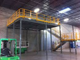 warehouse mezzanine modular office. Multi-Level Mezzanine System · Structural Steel Mezzanines Modular Building On Warehouse Office
