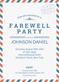 Party Template Farewell Party Invitation Template Template Fotojet