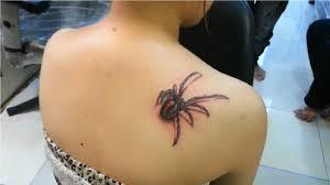 3d Spider Tattoo Amazing Spider Tattoo Best Small Tattoo Idea