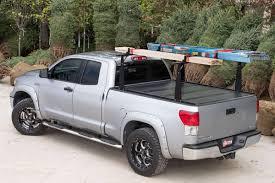 2007-2018 Toyota Tundra Hard Folding Tonneau Cover/Rack Combo ...