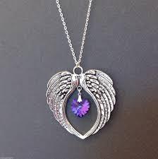guardian angel crystals pendant
