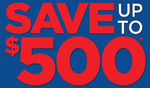 Save Up To 500