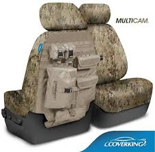 coverking multicam camo tactical seat