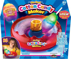 Light Up Cotton Candy Machine Cra Z Art Cotton Candy Maker With Light Up Wand Only 31 99