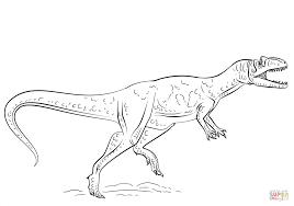 Dinosaur Color Page L Dessincoloriage