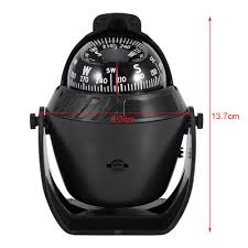 Portable Navigation Lights For Small Boats Us 10 43 33 Off High Precision Led Light Pivoting Compass Navigation Electronic Compass For Marine Boat Car Boat Compass Led Light Compass In
