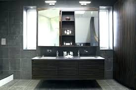 Bathroom Vanity Light With Outlet Delectable Bathroom Vanity Light Height From Floor Of New Install Outlet Bathro