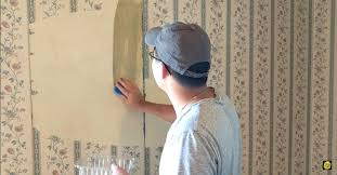 removing wallpaper glue from textured walls how
