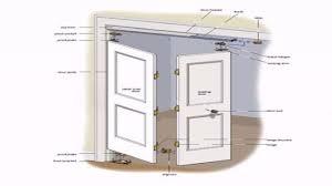 Simple Design Bifold Closet Doors Installation Masonite How To ...