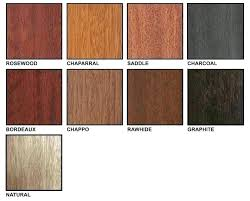 Sherwin Williams Stain Chart Sherwin Williams Stain Samples Coshocton